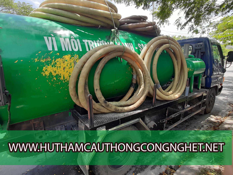 Hút hầm cầu Đà Nẵng giá rẻ