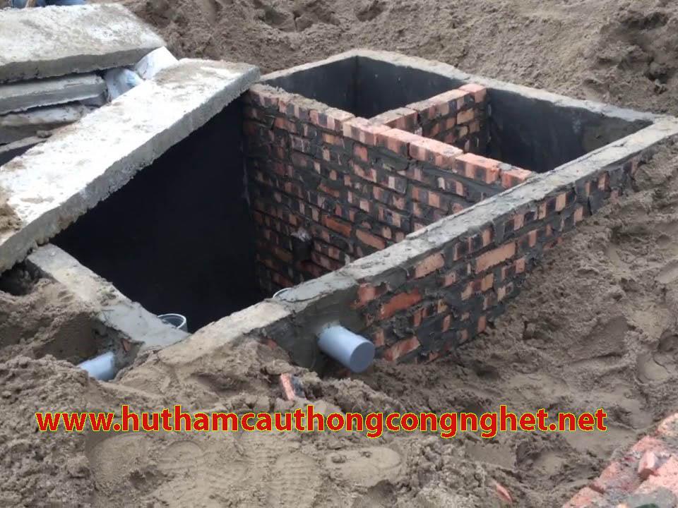 Xây dựng bể tự hoại ba ngăn