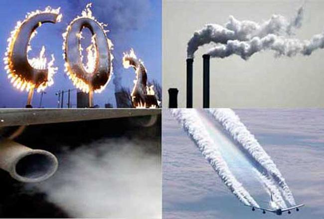 CO2 là nguyên nhân gây nên hiệu ứng nhà kính