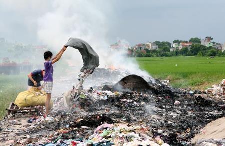 Ô nhiễm môi trường ngày càng trầm trọng hiện nay