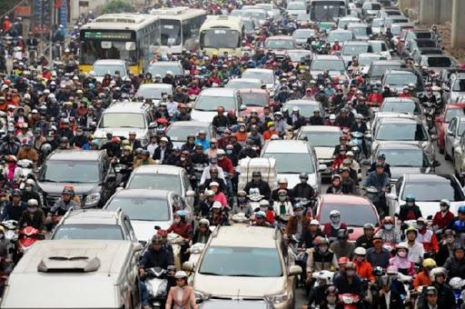 Hoạt động giao thông là một trong những nguyên nhân gây ô nhiễm tiếng ồn