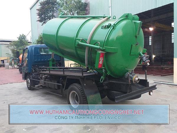 Hút hầm vệ sinh Quảng Điền