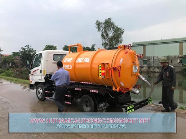 Hút hầm cầu Tiên Phước